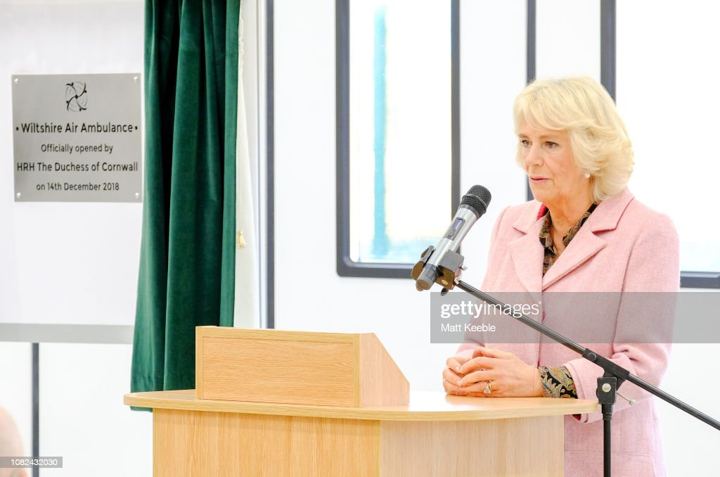 The Duchess Of Cornwall Visits Wiltshire : News Photo
