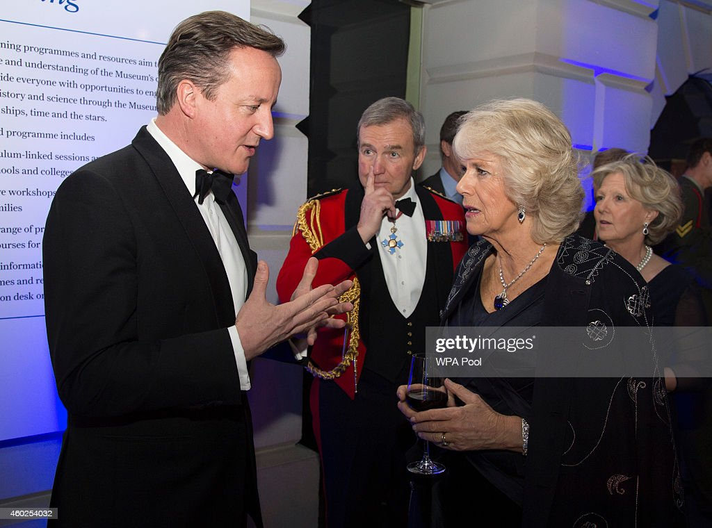 Prince Of Wales And Duchess Of Cornwall Attend The Sun Military Awards 2014 : News Photo