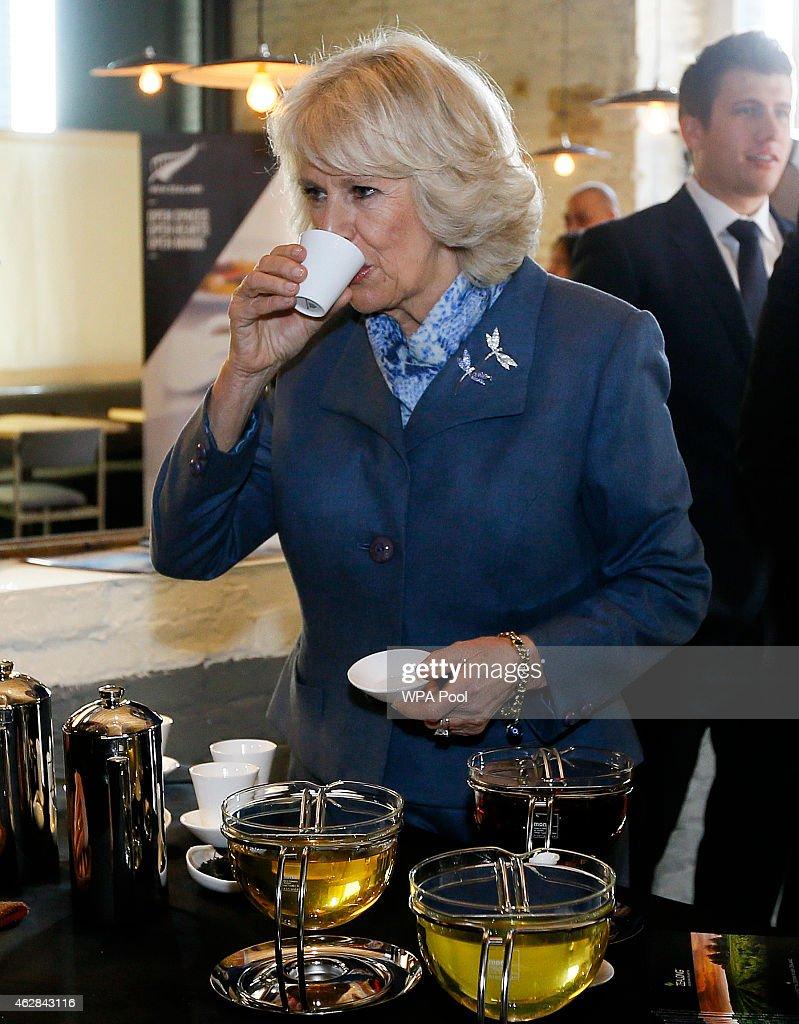 The Duchess of Cornwall Attends Waitangi Day Brunch : News Photo