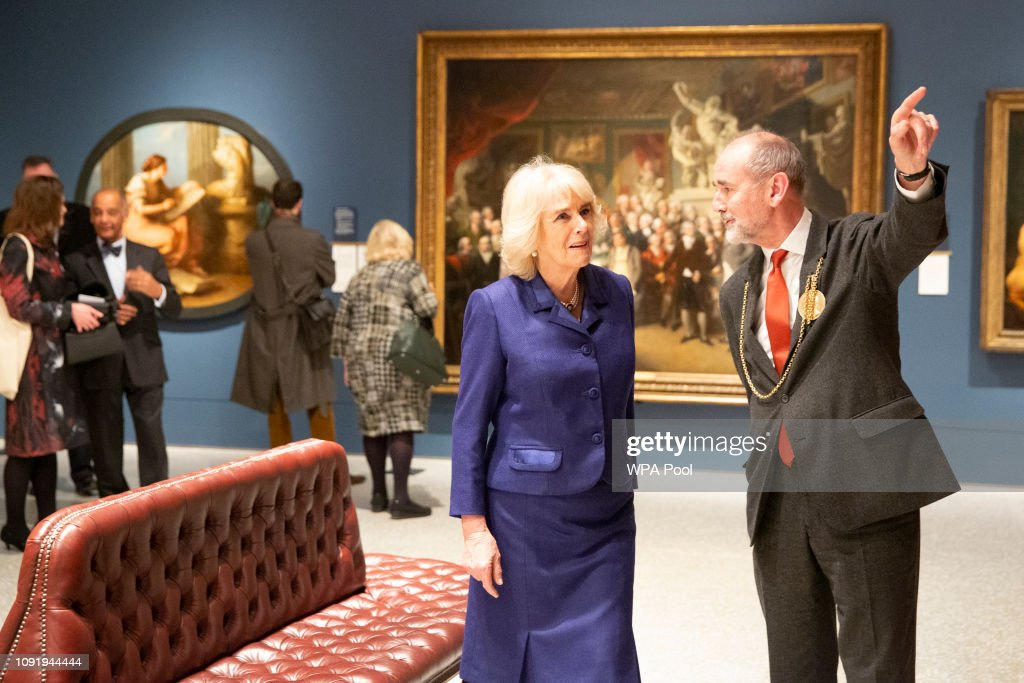The Duchess Of Cornwall Visits The Royal Academy Of Arts : News Photo