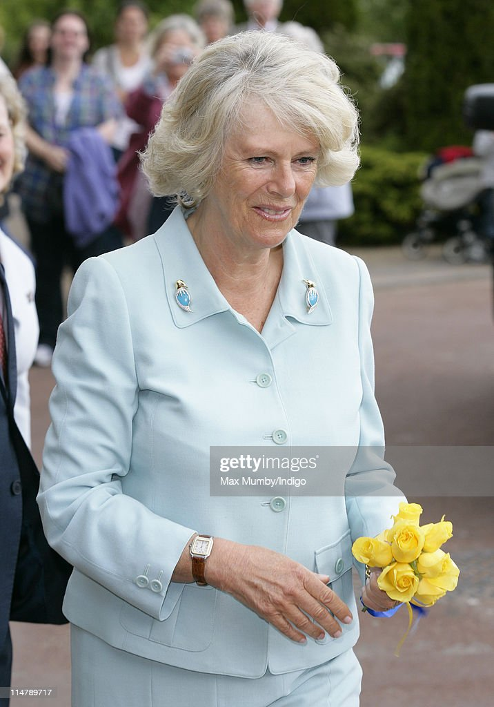 Camilla Duchess of Cornwall visits Denbies Wine Estate during a day of engagements in Surrey on May 26, 2011 in Dorking, England.