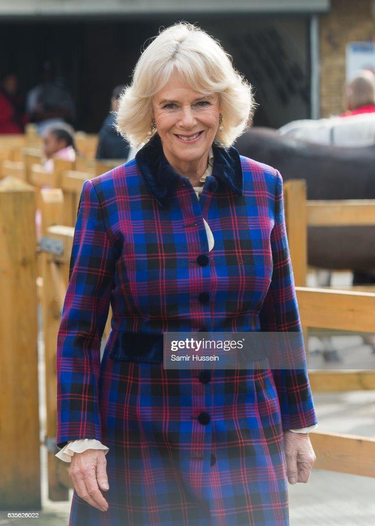 The Prince Of Wales & Duchess Of Cornwall Visit Brixton : News Photo