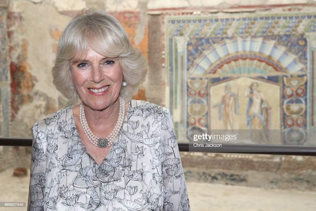 The Prince Of Wales And Duchess Of Cornwall Visit Italy - Day 2