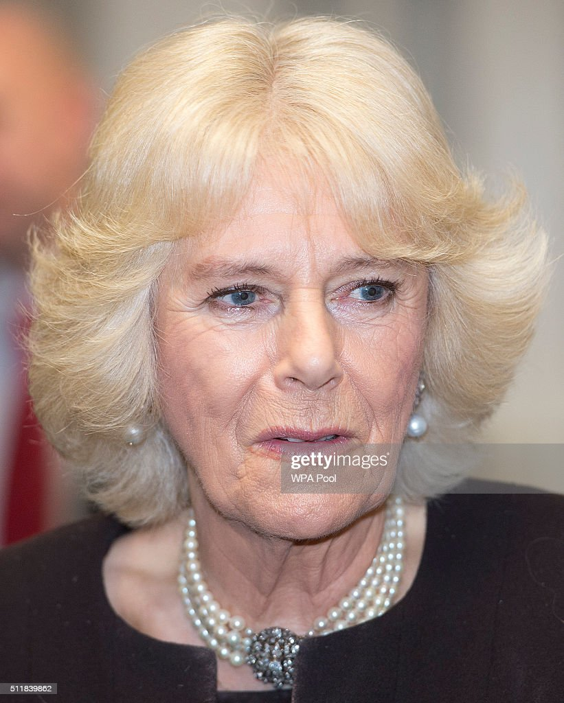 The Duchess Of Cornwall Visits Queens Gate School : News Photo