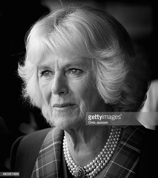 Camilla Duchess of Cornwall visits Seaport Farmer's Market on May 19 2014 in Halifax Canada The Prince of Wales and Duchess of Cornwall are on a four...