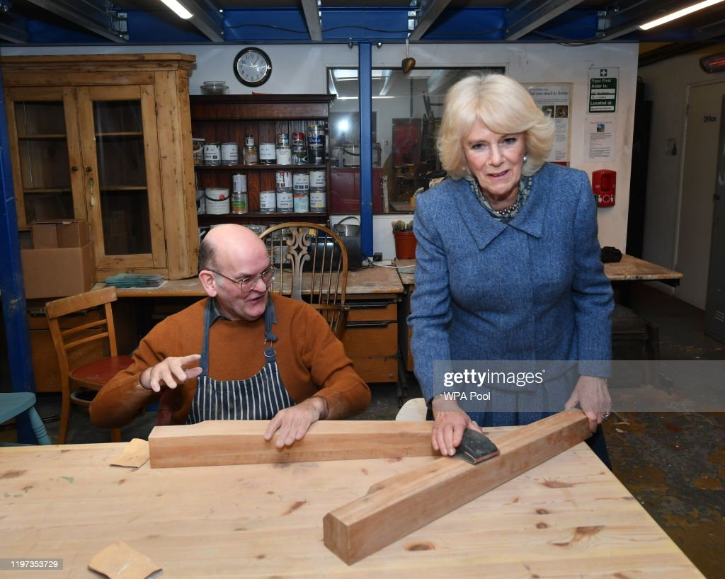 The Duchess Of Cornwall Visits Banbury : News Photo
