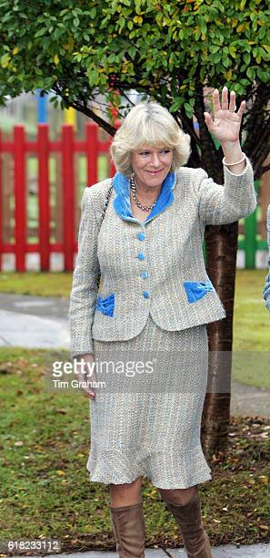 DECEMBER 2005*** Camilla Duchess of Cornwall visits Springboard Opportunity Playgroup in Chippenham The local charity helps preschool children with...