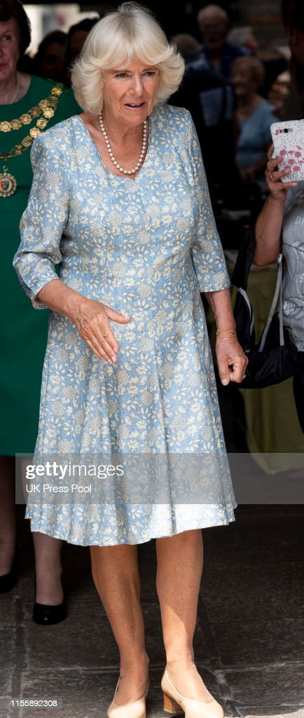 The Prince Of Wales & Duchess Of Cornwall Visit Devon & Cornwall - Day 2 : News Photo