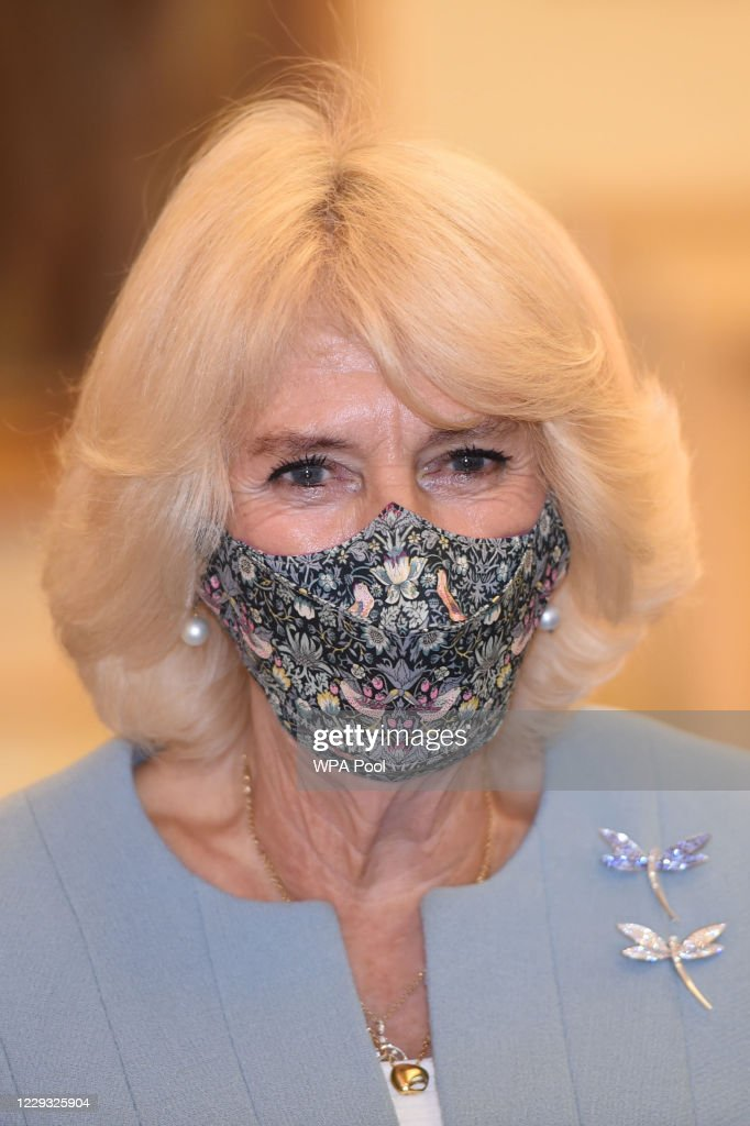 The Prince Of Wales And Duchess Of Cornwall Visit The Bank Of England : News Photo