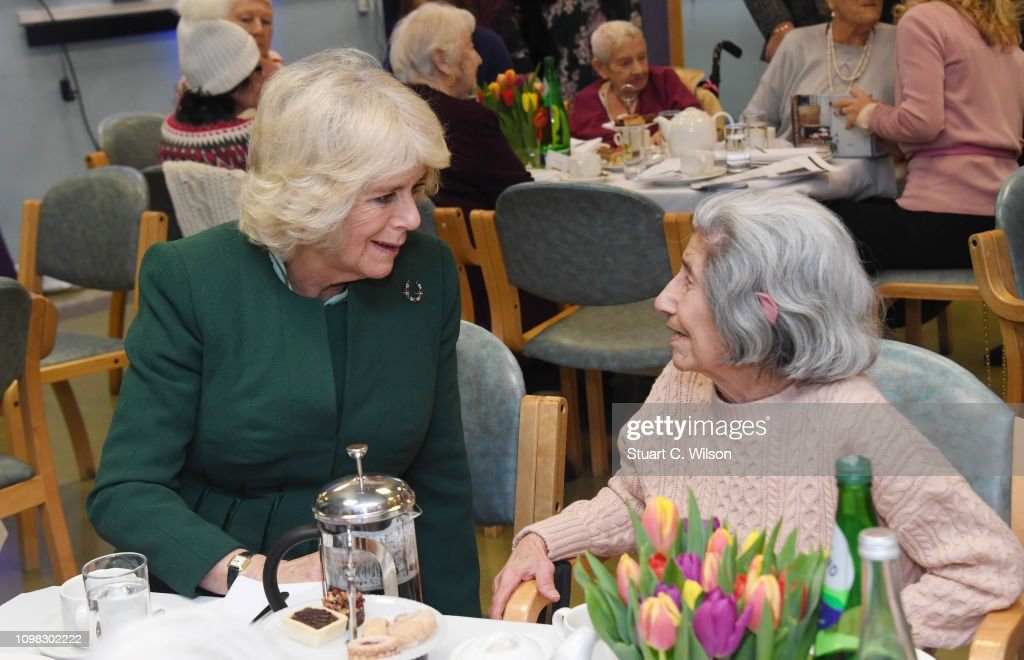 The Duchess Of Cornwall Visits East London : News Photo