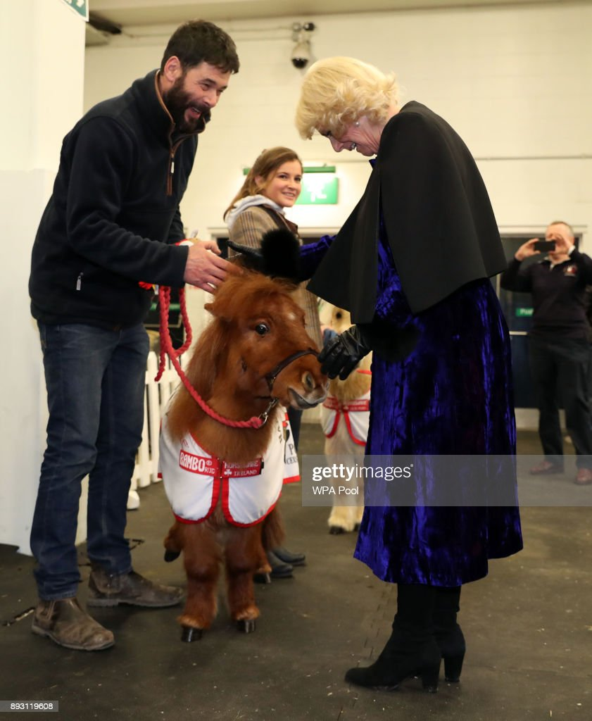 The Duchess Of Cornwall Visits Olympia Horse Show