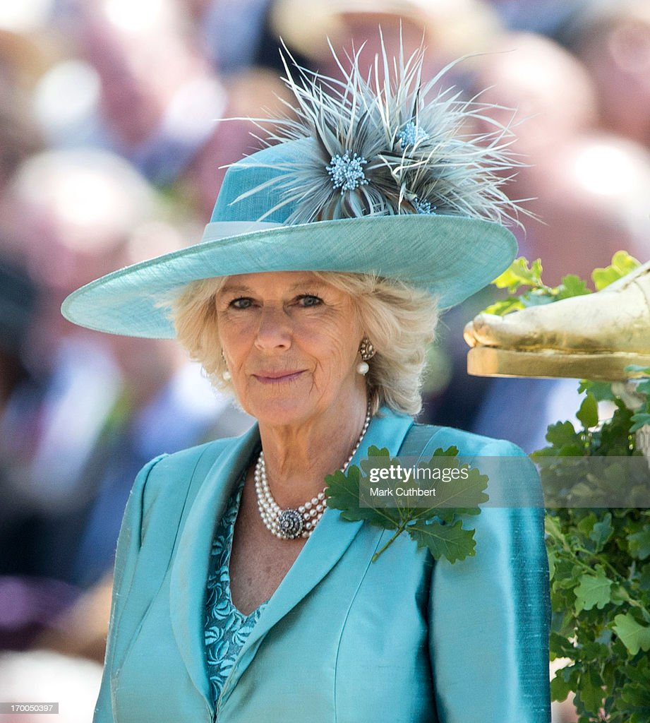 The Duchess Of Cornwall Visits The Royal Hospital Chelsea : News Photo