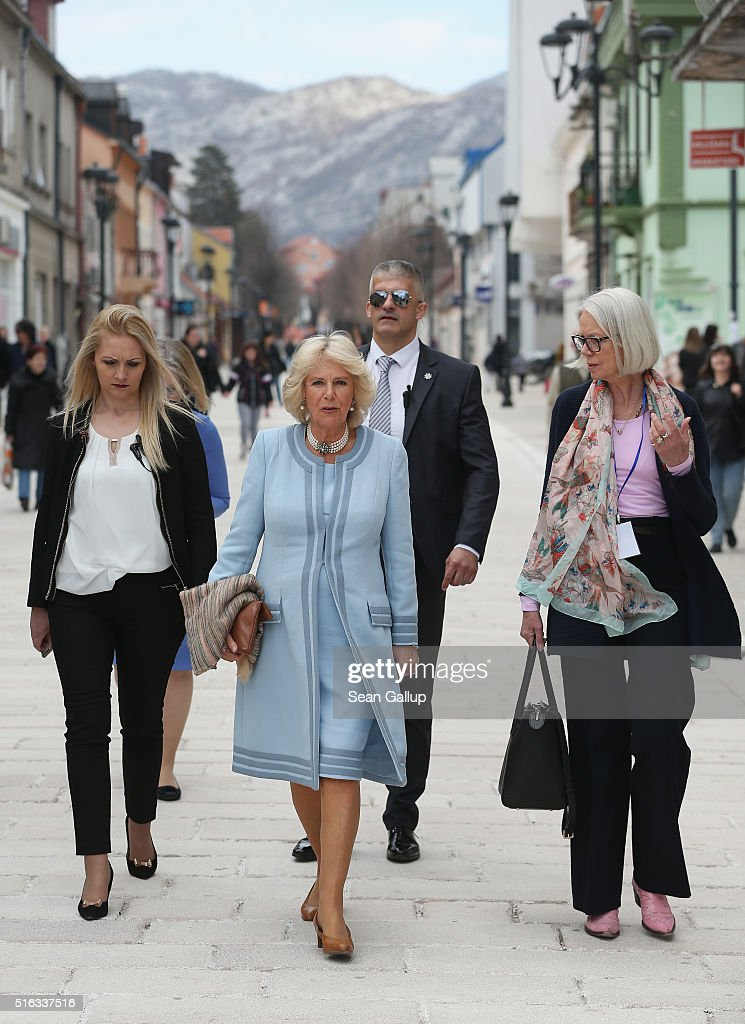The Prince Of Wales And The Duchess Of Cornwall Visit Montenegro : News Photo