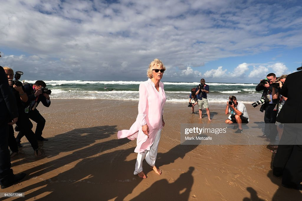 Prince Of Wales And Duchess Of Cornwall Visit Queensland - Day 2 : News Photo