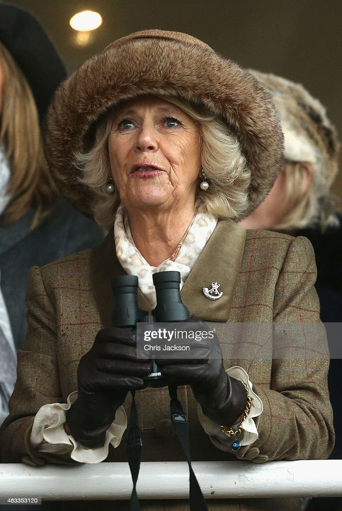 The Duchess Of Cornwall Attends The Royal Artillery Gold Cup : News Photo