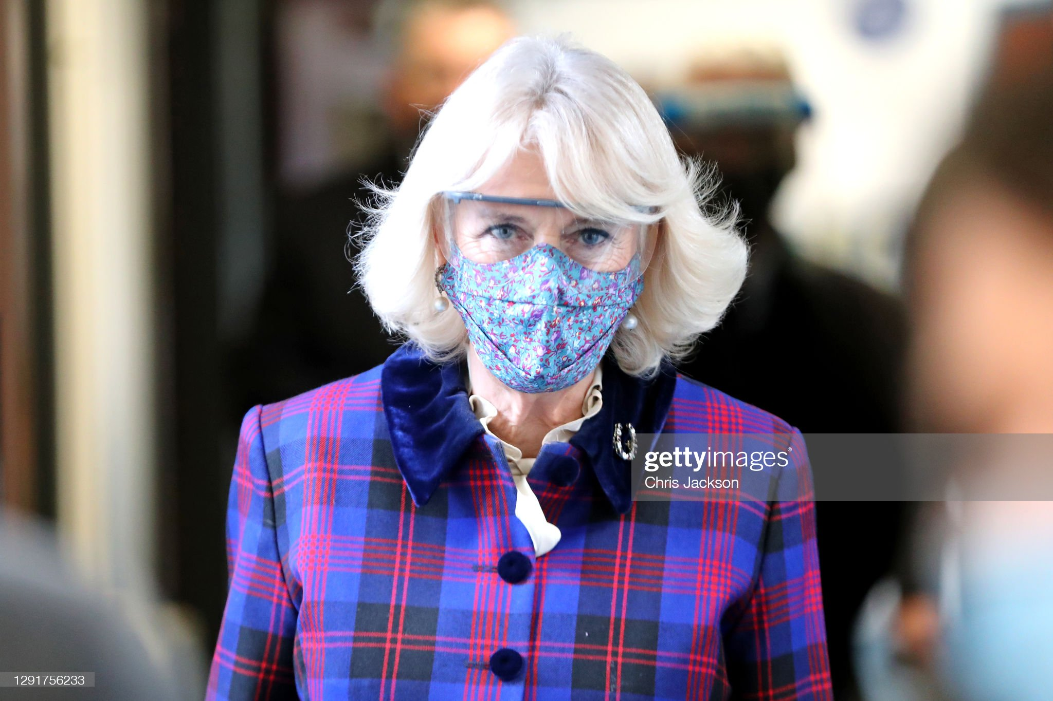 camilla-duchess-of-cornwall-wearing-a-facemask-and-protective-glasses-picture-id1291756233