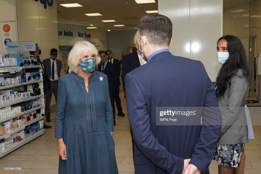 The Duchess Of Cornwall Undertakes Engagements In Central London : News Photo