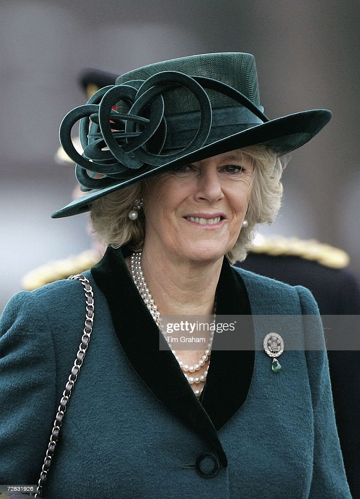 Duchess of Cornwall At Passing-Out Parade : Fotografía de noticias