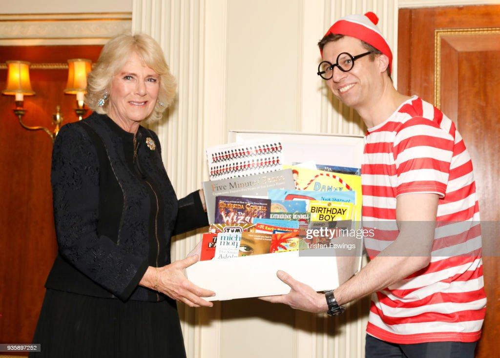 The Duchess Of Cornwall Attends The National Literacy Trust 25th Anniversary Reception