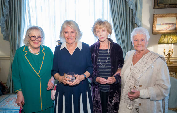 GBR: The Duchess of Cornwall Hosts 'The Duchess of Cornwall's Reading Room'