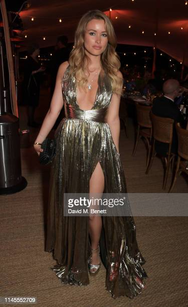 Camilla Ferrero attends a private dinner hosted by Alejandro Agag to celebrate the World Premiere of Formula E documentary And We Go Green during the...
