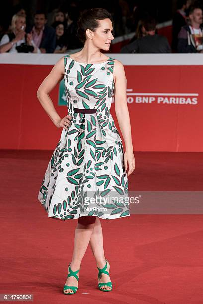 Camilla Filippi attends red carpet or 'Manchester By The Sea' during the 11th Rome Film Festival at Auditorium Parco Della Musica on October 14 2016...