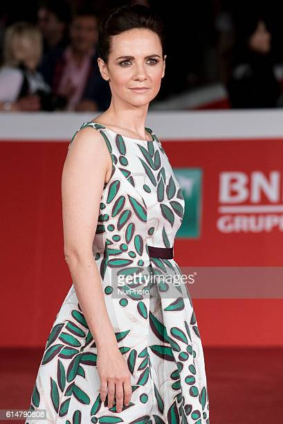Camilla Filippi attends red carpet or 'Manchester By The Sea' during the 11th Rome Film Festival at Auditorium Parco Della Musica on October 14, 2016...