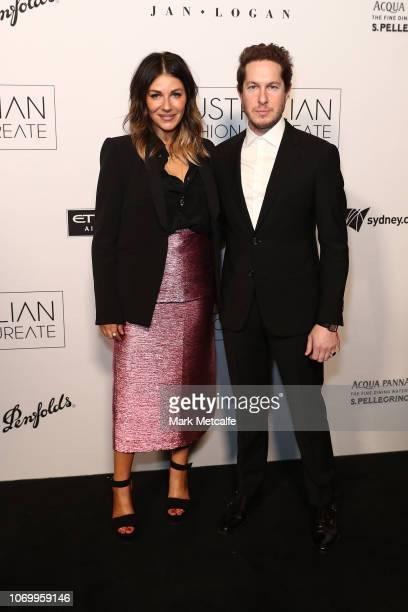 Camilla FreemanTopper and Marc Freeman attend the 2018 Australian Fashion Laureate Awards on November 20 2018 in Sydney Australia