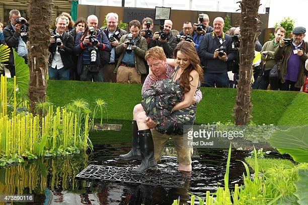 Camilla Hansson attends the Chelsea Flower Show on May 18 2015 in London England