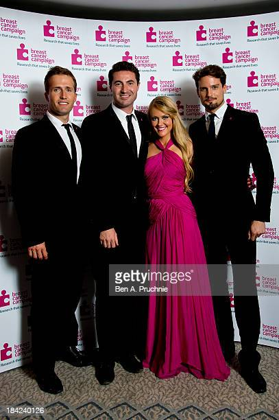 Camilla Kerslake and Blake attend the Breast Cancer Campaign's Pink Ribbon Ball at The Dorchester on October 12 2013 in London England