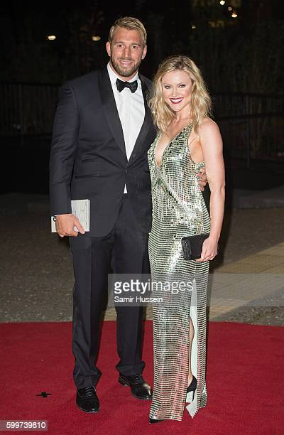 Camilla Kerslake and Chris Robshaw arrive for GQ Men Of The Year Awards 2016 at Tate Modern on September 6 2016 in London England