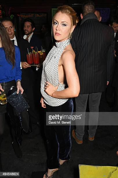 Camilla Kerslake at Loulou's in Mayfair following of the exclusive screening of Spectre hosted by Belvedere Vodka and Aston Martin on October 27 2015...