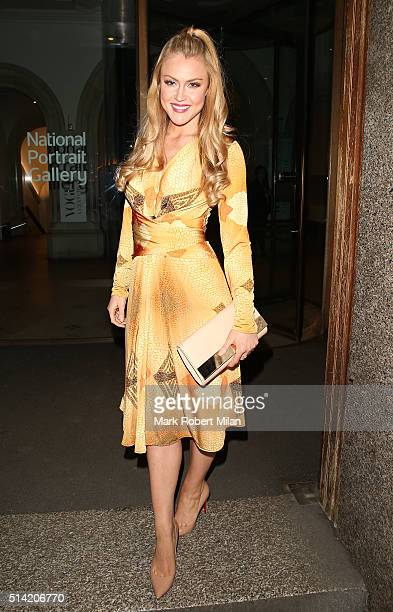 Camilla Kerslake at the National Portrait Gallery the celebrate the launch of the LDNY Foundation's antiviolence Women United campaign supported by...