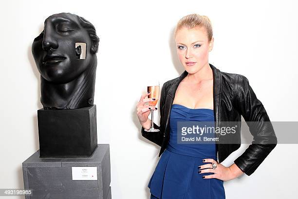 Camilla Kerslake attends a private view of works by master sculptor Igor Mitoraj to launch Contini Art UK a new gallery opening on New Bond Street on...