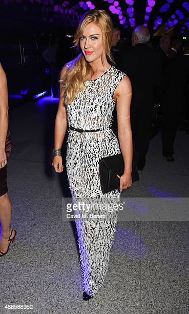 Camilla Kerslake attends as the London Evening Standard Progress 1000 list is revealed at Canary Wharf Crossrail on September 16 2015 in London...
