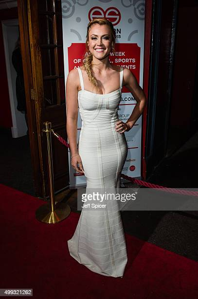 Camilla Kerslake attends Eastern Seasons' Gala Dinner at Madame Tussauds on November 30 2015 in London England
