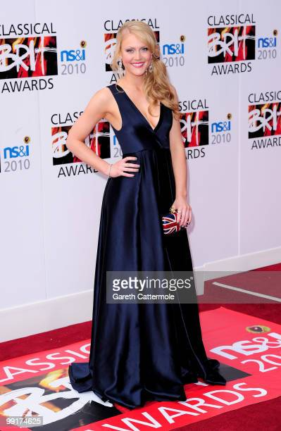 Camilla Kerslake attends the Classical BRIT Awards at Royal Albert Hall on May 13 2010 in London England