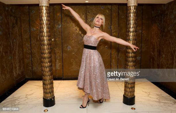 Camilla Kerslake attends the English National Ballet's Spring Gala 2018 at The Dorchester on March 19 2018 in London England
