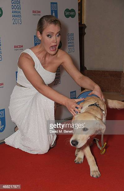 Camilla Kerslake attends the Guide Dogs UK Annual Awards 2013 at the London Hilton on December 11 2013 in London England