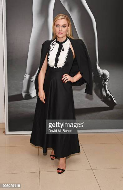 Camilla Kerslake attends the opening night drinks reception for the English National Ballet's 'Song Of The Earth / La Sylphide' at St Martins Lane on...
