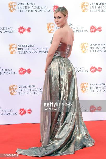 Camilla Kerslake attends the Virgin Media British Academy Television Awards 2019 at The Royal Festival Hall on May 12 2019 in London England