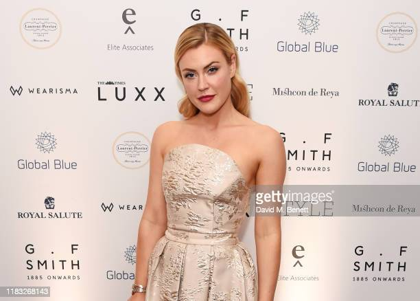 Camilla Kerslake attends the Walpole British Luxury Awards 2019 at The Dorchester on November 18 2019 in London England