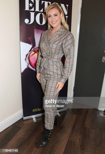 Camilla Kerslake celebrates the publication of Sir Elton's autobiography Me in conversation with David Walliams at the Eventim Apollo Hammersmith on...