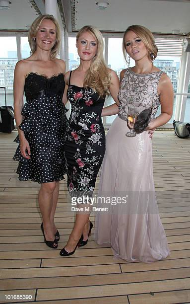 Camilla Kerslake Kimberley Walsh Sophie Raworth and other celebrities attend a blacktie gala charity to celebrate the 10th anniversary of the the...