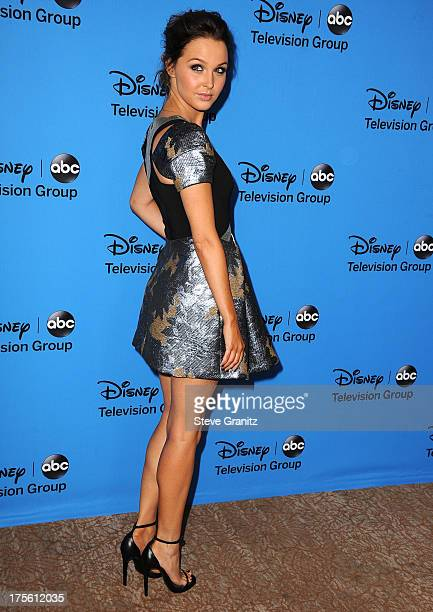 Camilla Luddington arrives at the 2013 Television Critics Association's Summer Press Tour Disney/ABC Party at The Beverly Hilton Hotel on August 4...