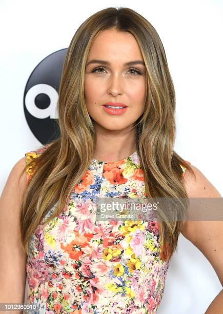 Camilla Luddington arrives at the Disney ABC Television Hosts TCA Summer Press Tour at The Beverly Hilton Hotel on August 7 2018 in Beverly Hills...