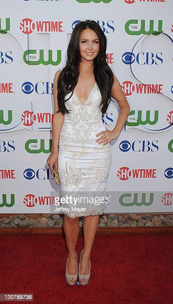 Camilla Luddington arrives at the TCA Party for CBS The CW and Showtime held at The Pagoda on August 3 2011 in Beverly Hills California