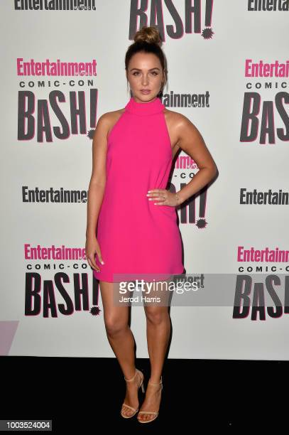 Camilla Luddington attends Entertainment Weekly's ComicCon Bash held at FLOAT Hard Rock Hotel San Diego on July 21 2018 in San Diego California...