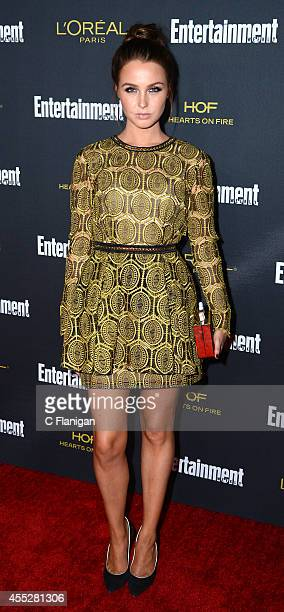 Camilla Luddington attends the 2014 Entertainment Weekly PreEmmy Party at Fig Olive Melrose Place on August 23 2014 in West Hollywood California