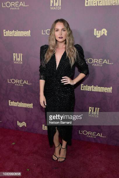 Camilla Luddington attends the 2018 PreEmmy Party hosted by Entertainment Weekly and L'Oreal Paris at Sunset Tower on September 15 2018 in Los...